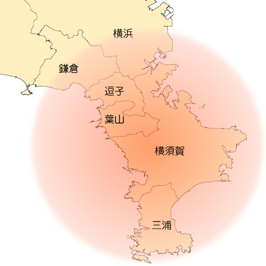住宅工事施工エリアマップ